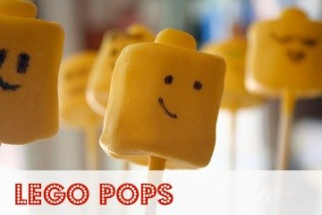 Lego Birthday – How to Make Lego Pops